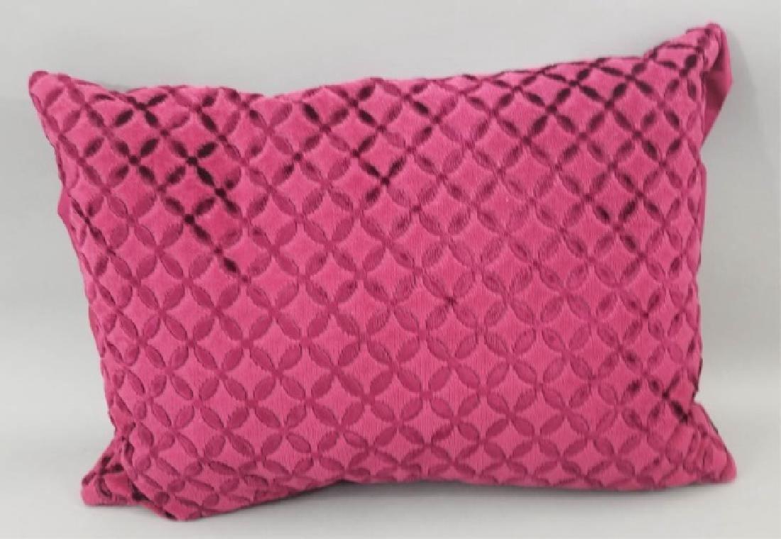 5 Designer's Guild of London Cut Velvet Pillows - 6