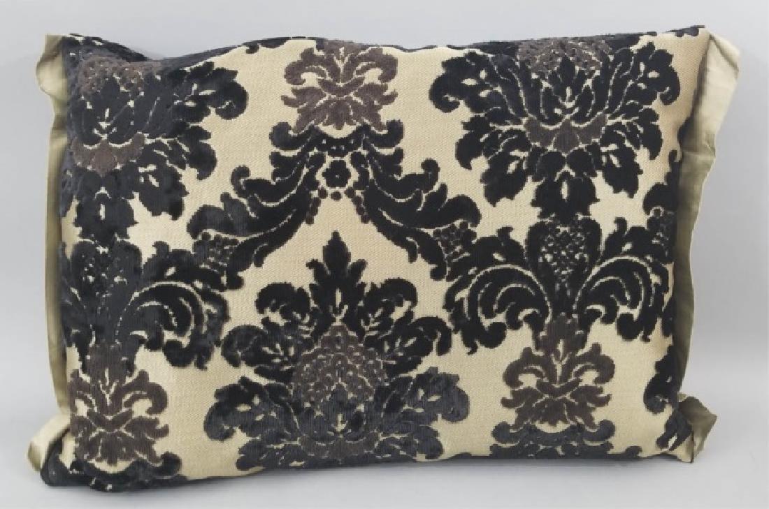 5 Designer's Guild of London Cut Velvet Pillows - 7