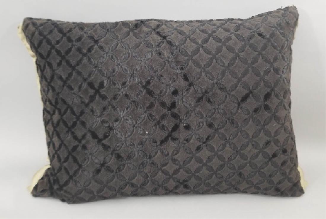 5 Designer's Guild of London Cut Velvet Pillows - 8