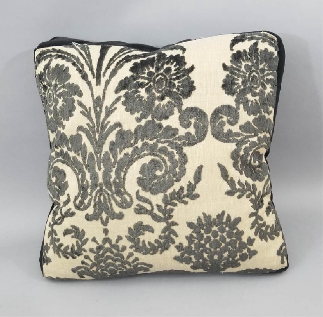 5 Designer's Guild of London Cut Velvet Pillows - 9