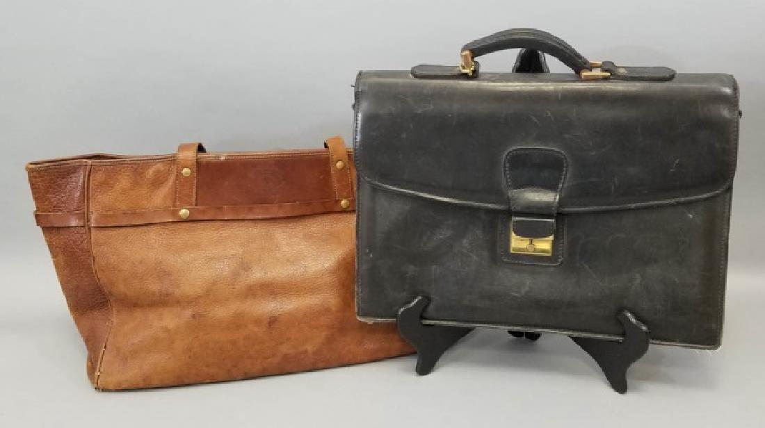 Vintage Ghurka Mystic Bag & J Daniel Briefcase