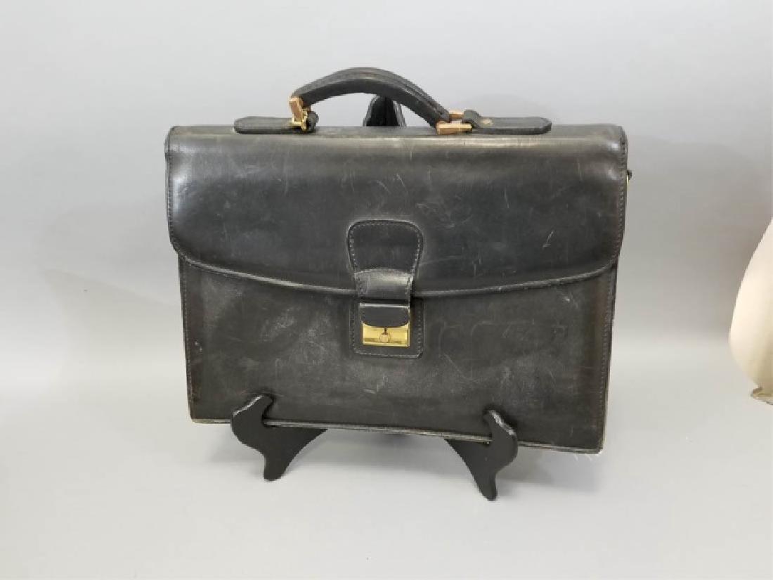 Vintage Ghurka Mystic Bag & J Daniel Briefcase - 3