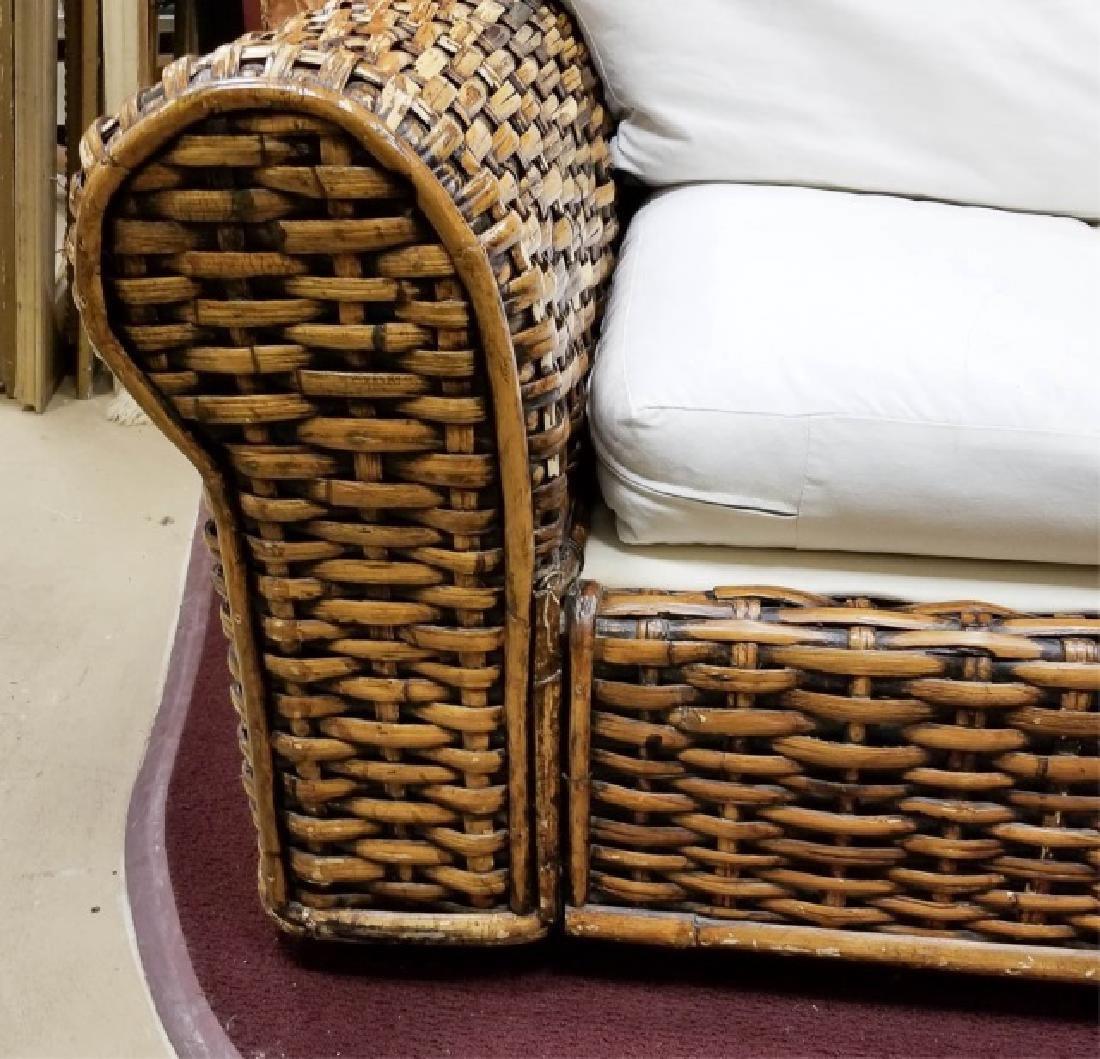 Ralph Lauren Peel Collection Rattan 3-Seat Sofa - 5