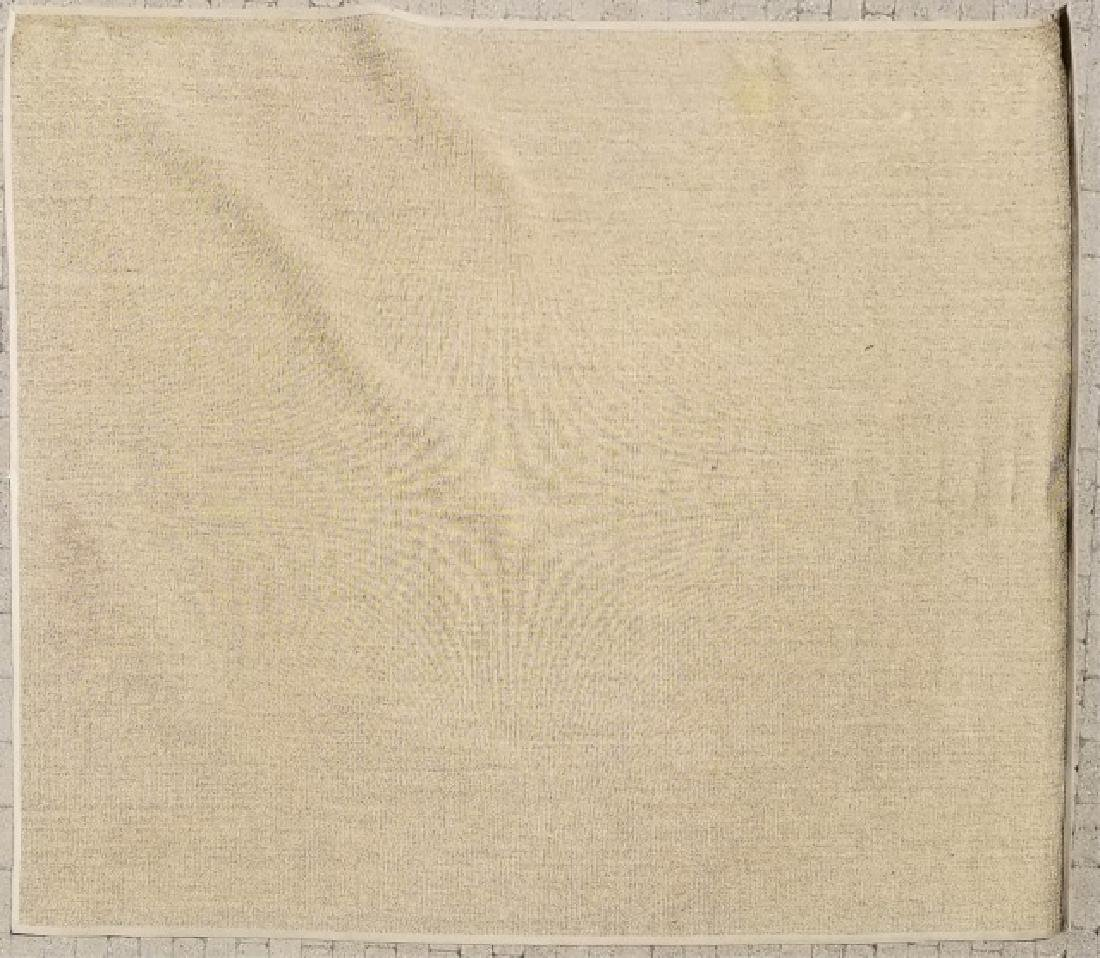 Woven Jute Canvas Edged Rug in Neutral Cocoa
