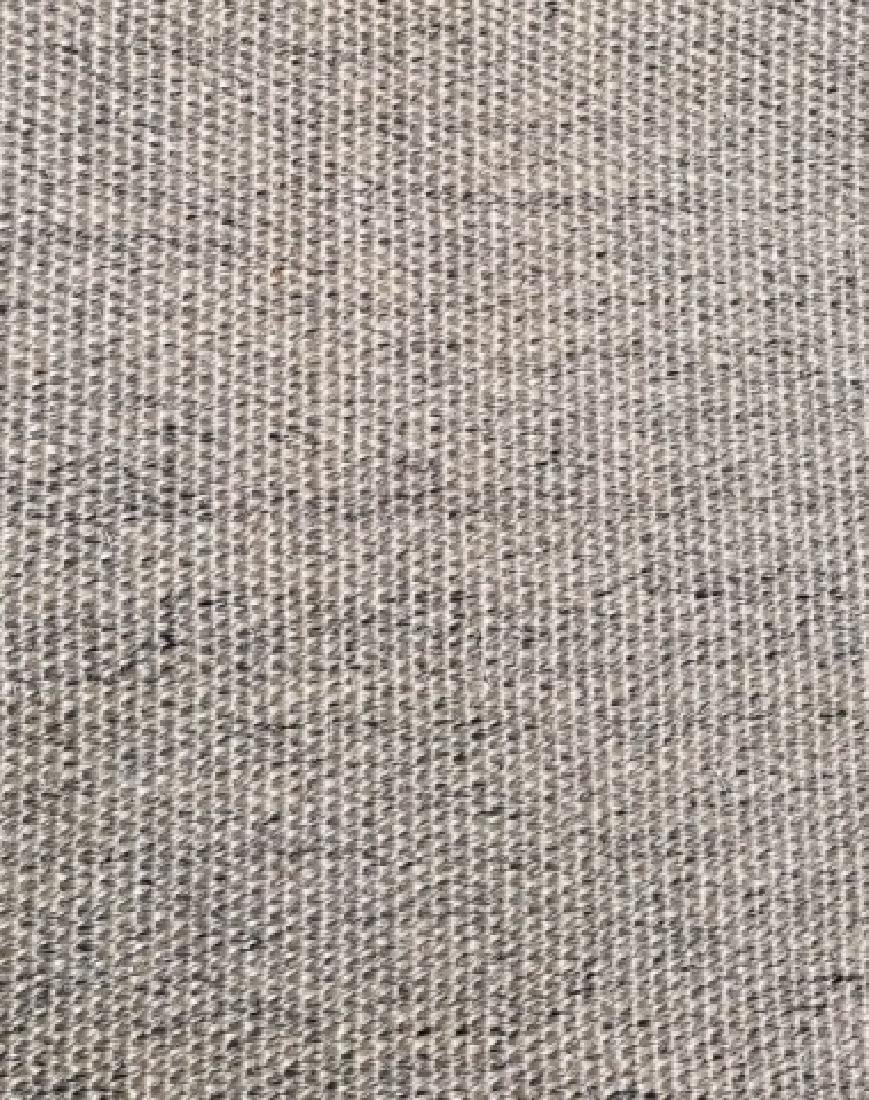 Woven Jute Canvas Edged Rug in Neutral Cocoa - 5
