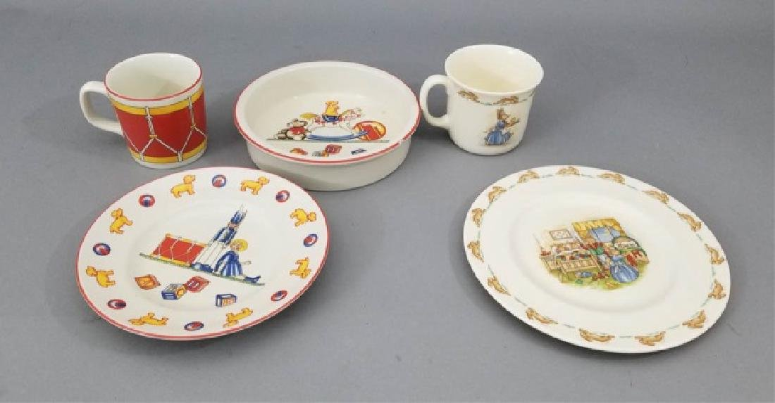 Group Children's Porcelain Items Tiffany & Doulton