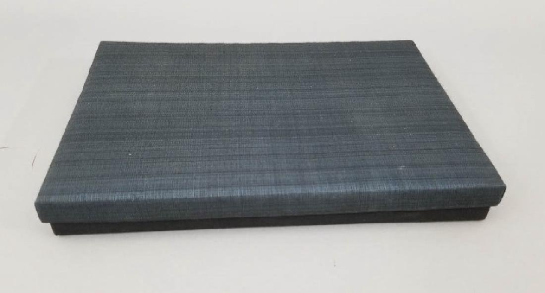 2 Boxed Sushi Sets Wooden Chopsticks w Stone Rests - 7