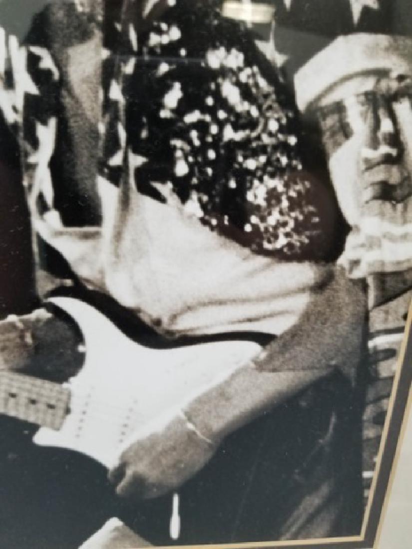 Framed 1968 Jimi Hendrix Photograph - 2