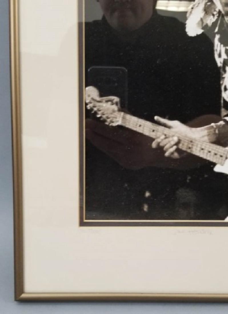 Framed 1968 Jimi Hendrix Photograph - 4