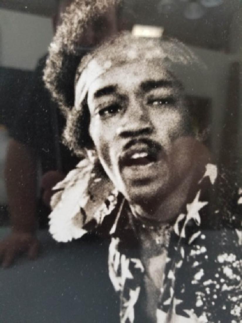 Framed 1968 Jimi Hendrix Photograph - 8