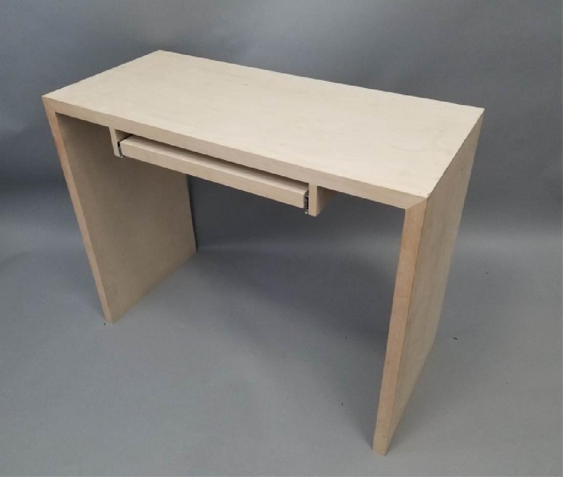 Natural Wood Modern Design Computer Desk (1 of 4)