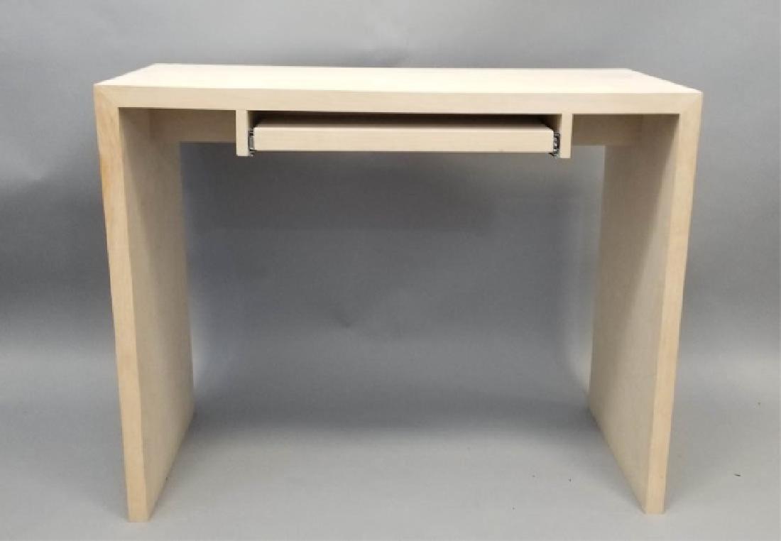 Natural Wood Modern Design Computer Desk (1 of 4) - 2