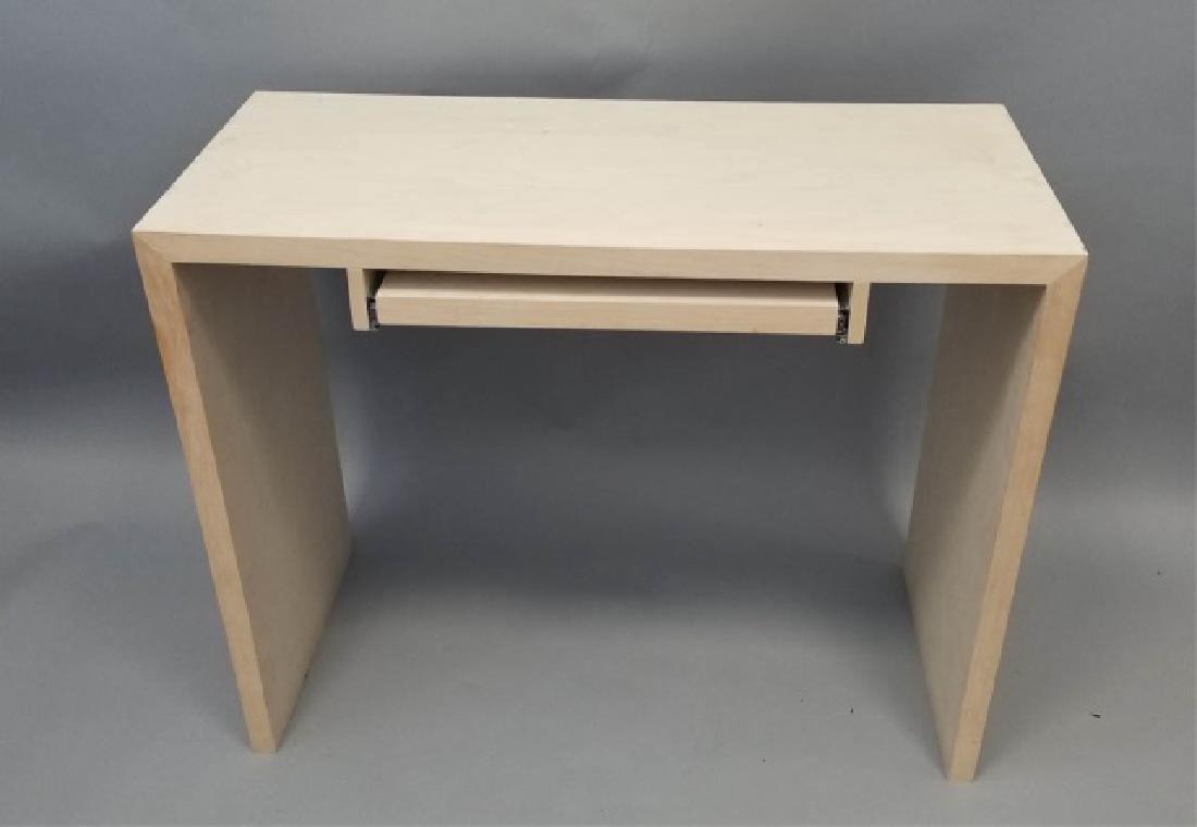 Natural Wood Modern Design Computer Desk (1 of 4) - 3