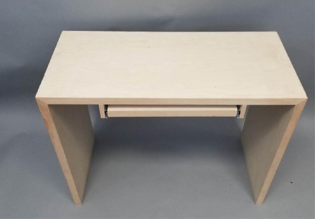 Natural Wood Modern Design Computer Desk (1 of 4) - 4