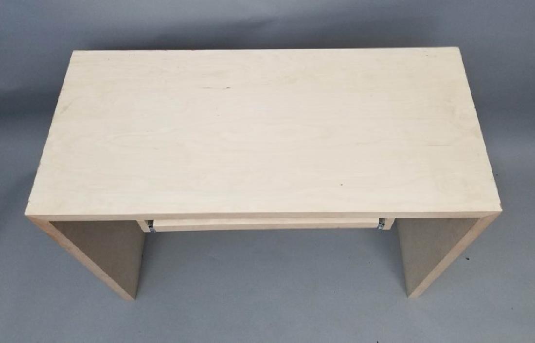 Natural Wood Modern Design Computer Desk (1 of 4) - 5