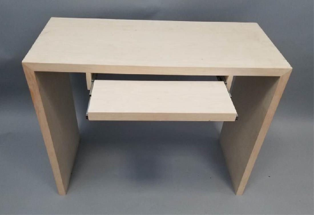 Natural Wood Modern Design Computer Desk (1 of 4) - 6