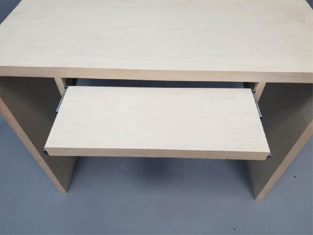 Natural Wood Modern Design Computer Desk (1 of 4) - 7