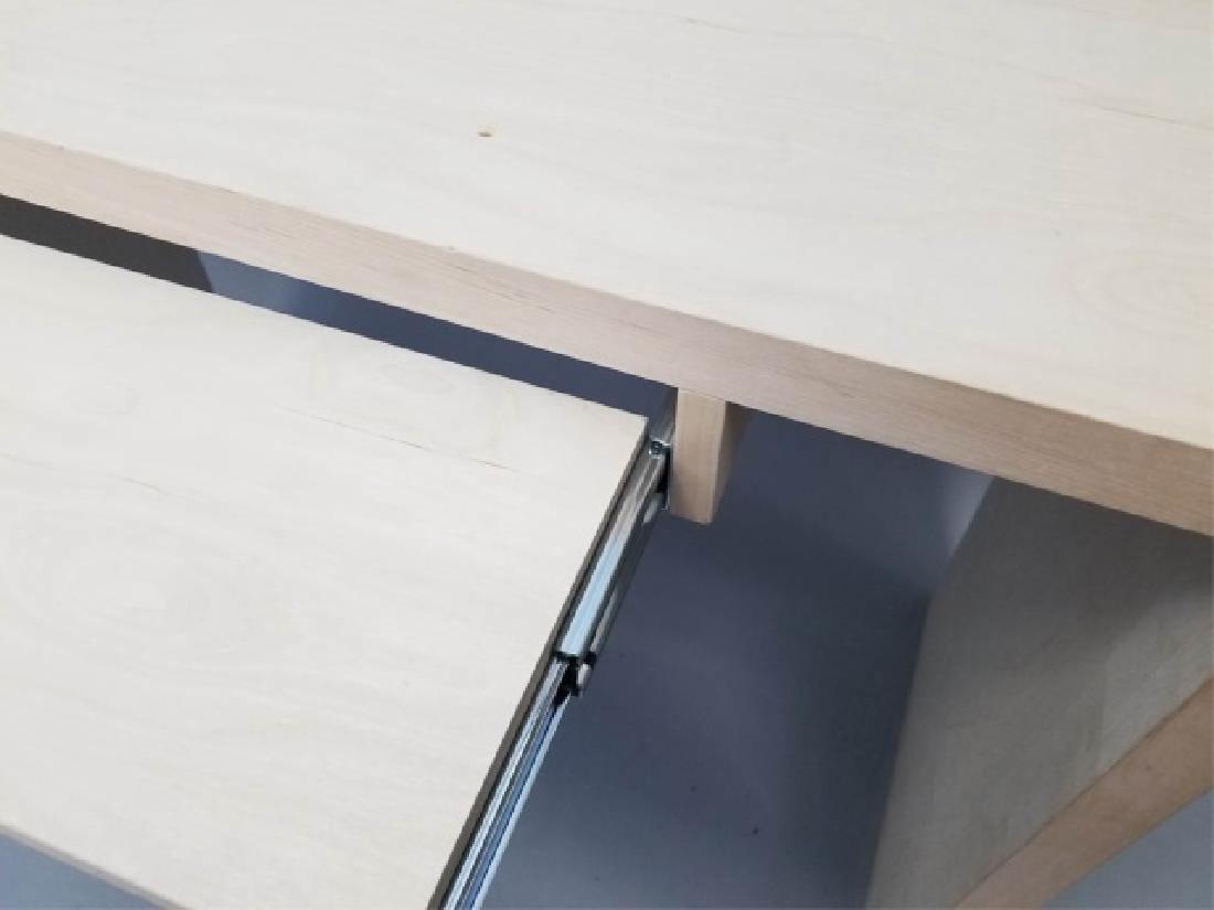 Natural Wood Modern Design Computer Desk (1 of 4) - 8