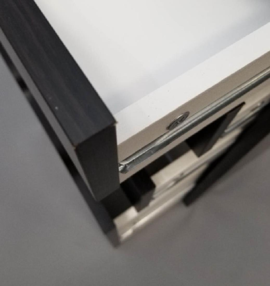 Black Office Cabinet w 4 Self-Pull Drawers(1 of 3) - 4