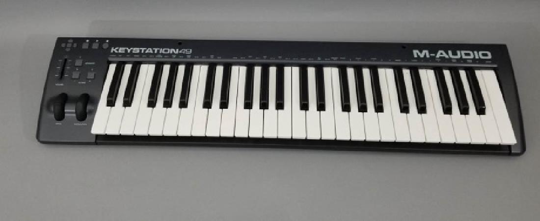 M-AUDIO Keystation 49 Electronic Keyboard - 9