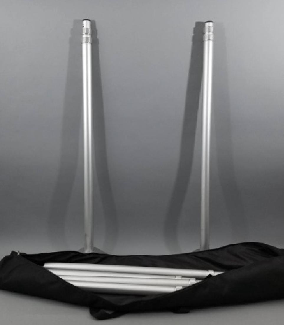 Pair of Heavy Floor Mounts with Black Carrier Bag