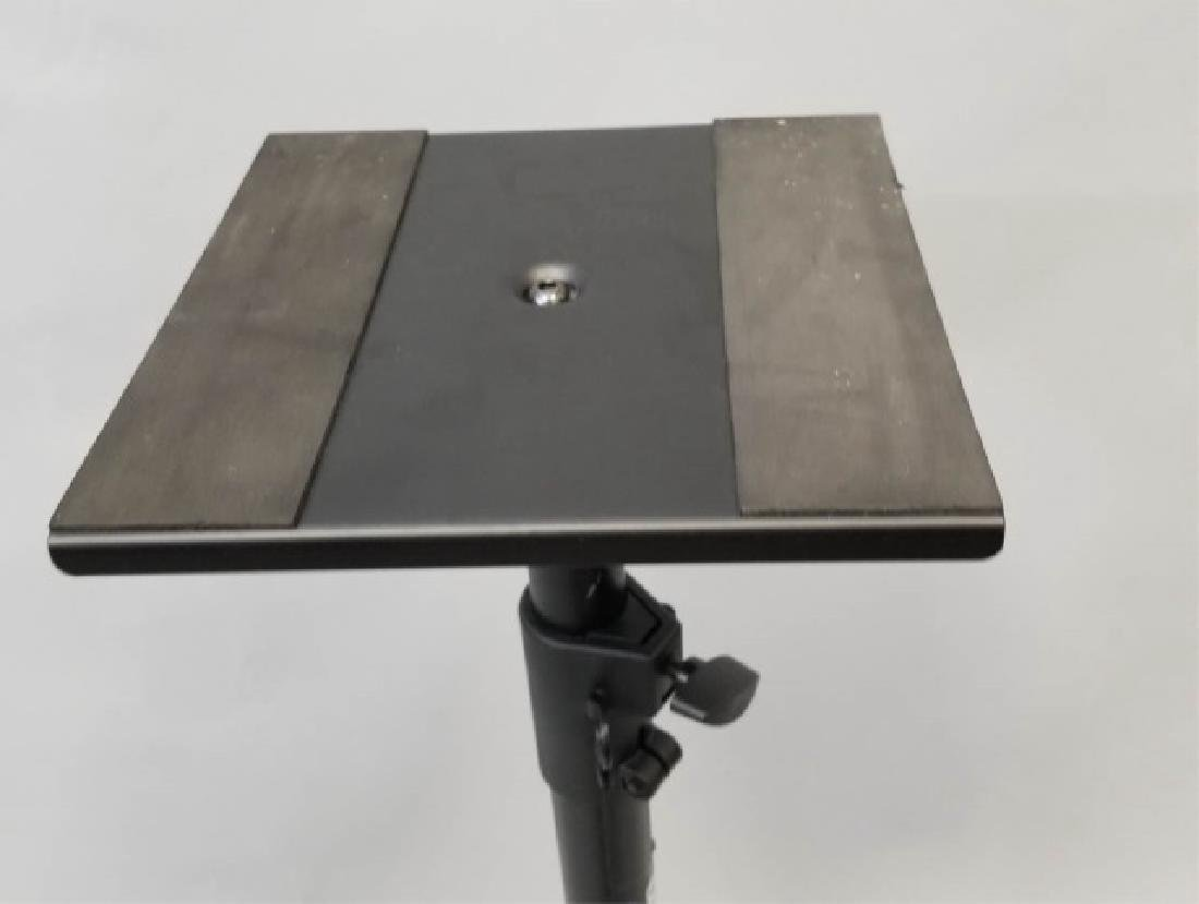 Pair of On-Stage Triangle Base Monitor Stands - 6