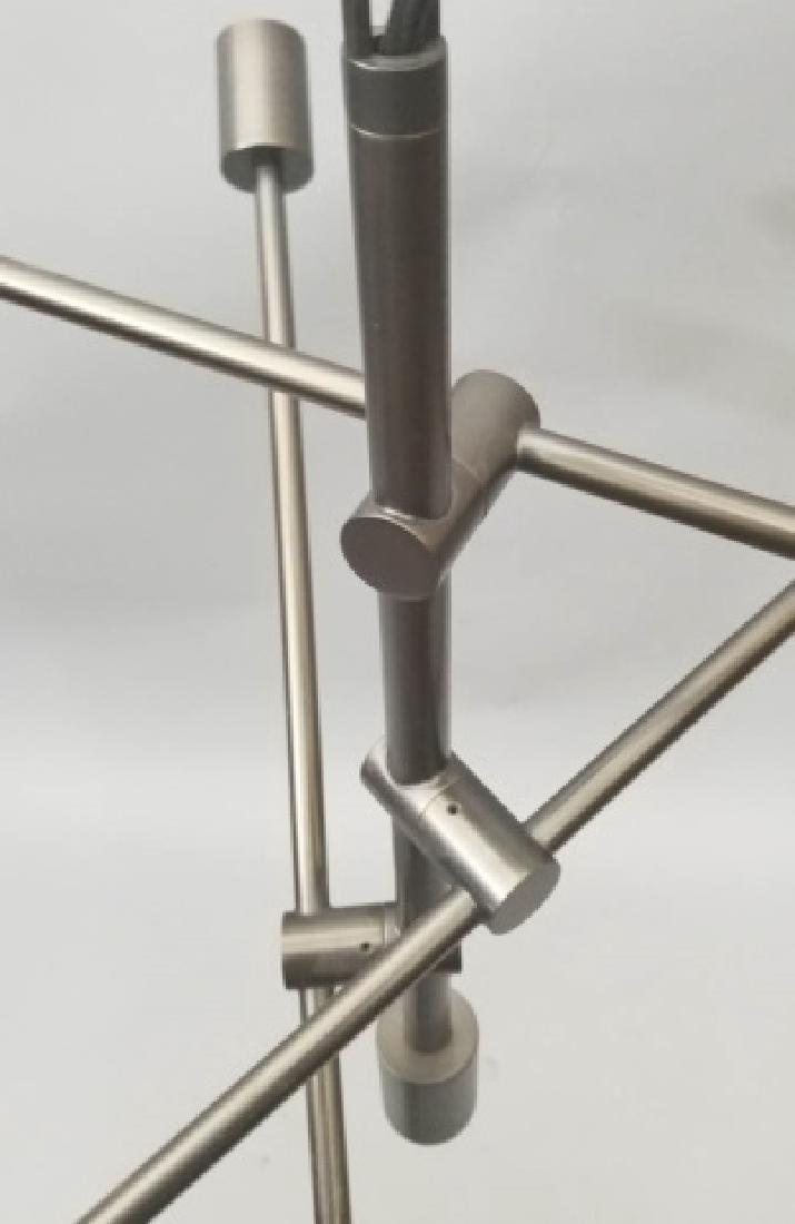 Metallic Sputnik-Style Modern Chandelier - 4