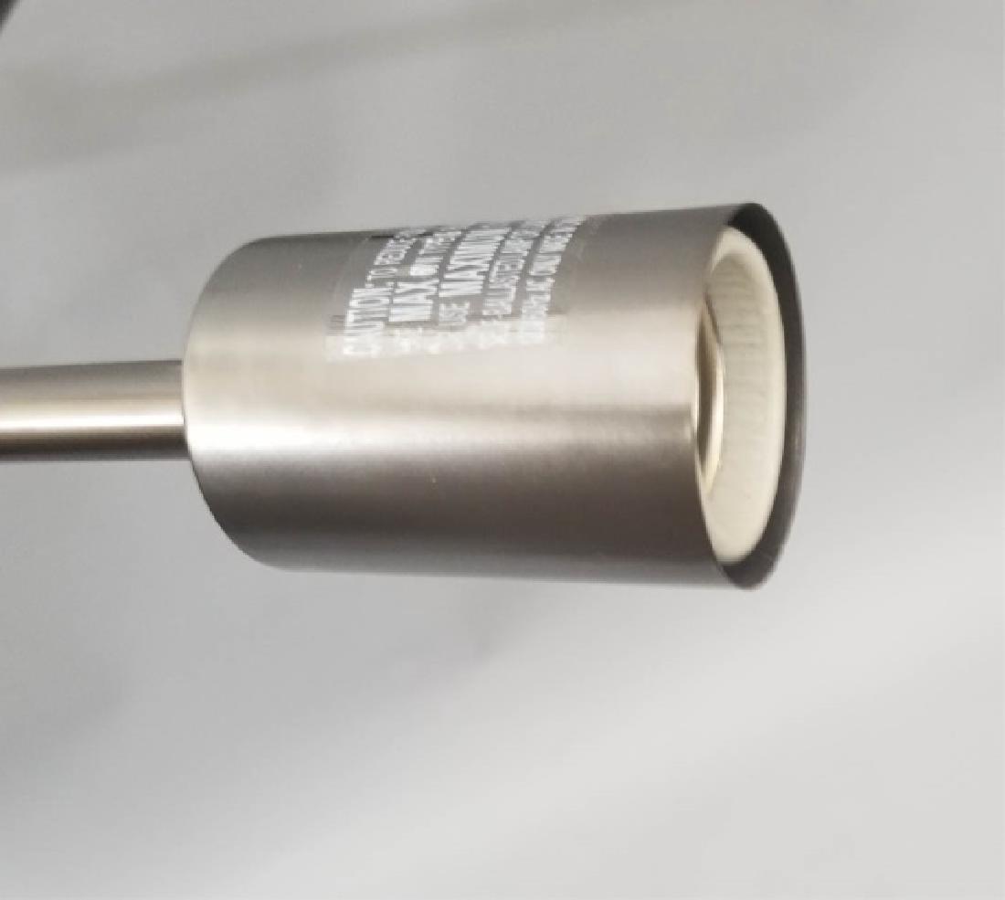 Metallic Sputnik-Style Modern Chandelier - 5