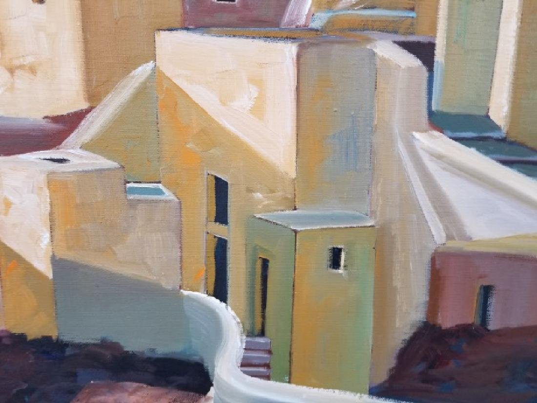 Signed Oil Painting of San Tocini, Greece - 2007 - 6