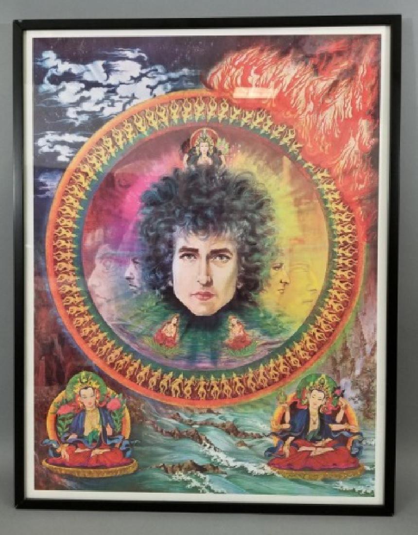 Bob Dylan Framed Pop Poster Art
