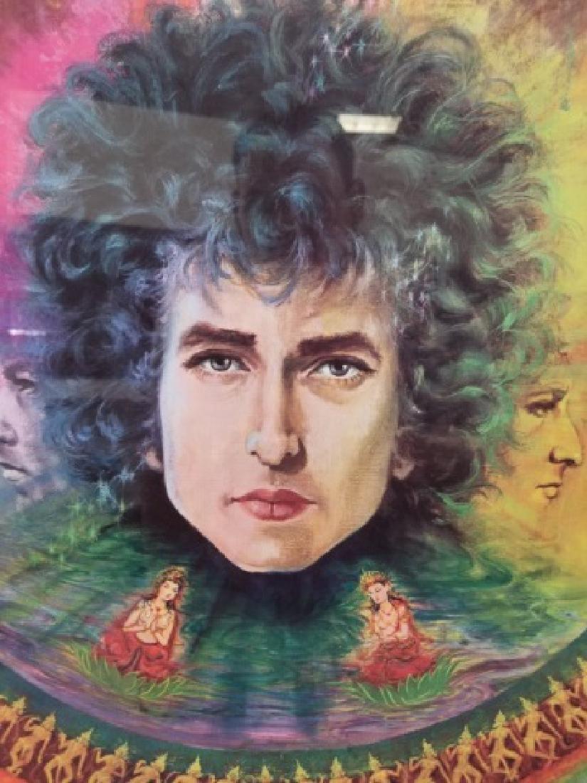 Bob Dylan Framed Pop Poster Art - 6