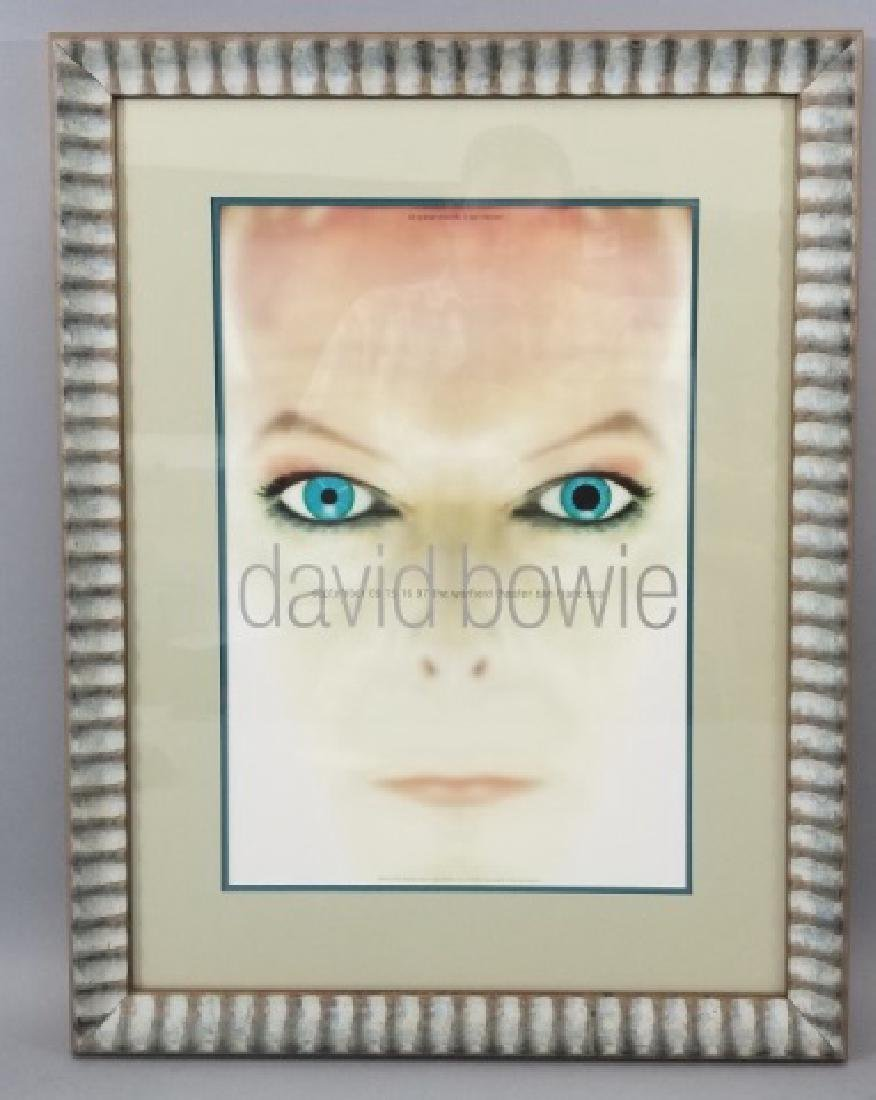 David Bowie 1997 Framed & Matted Show Poster - 3