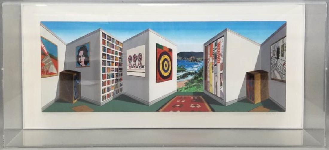 3D Pop Art Patrick Hughes (b 1939) Titled Poppier
