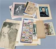 Antique  Vintage Ephemera  Scrap Book Materials