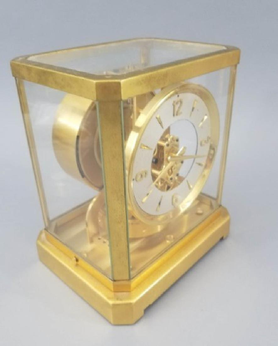 Gilt & Glass Framed Le Coultre Atmos Mantle Clock