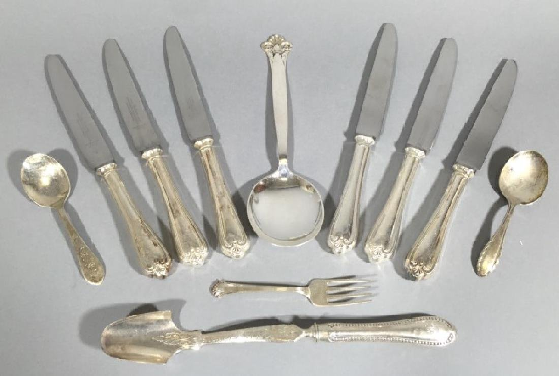 Assorted Sterling Silver & Sheffield Plate Items