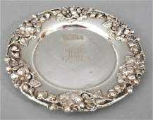 Antique Sterling Silver Figural Sweetmeats Dish