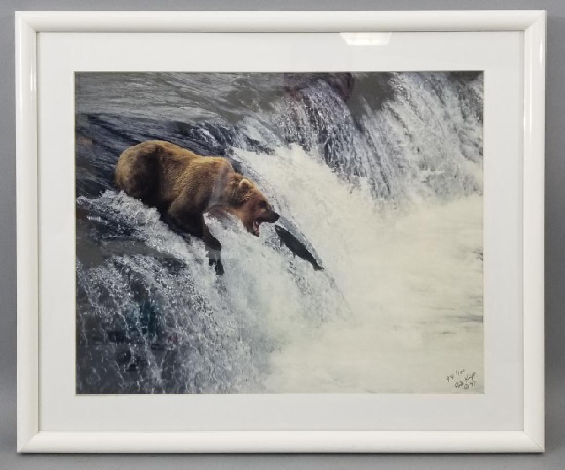 Pair of Framed Rod Kieft Photos of Bear & Moose - 3