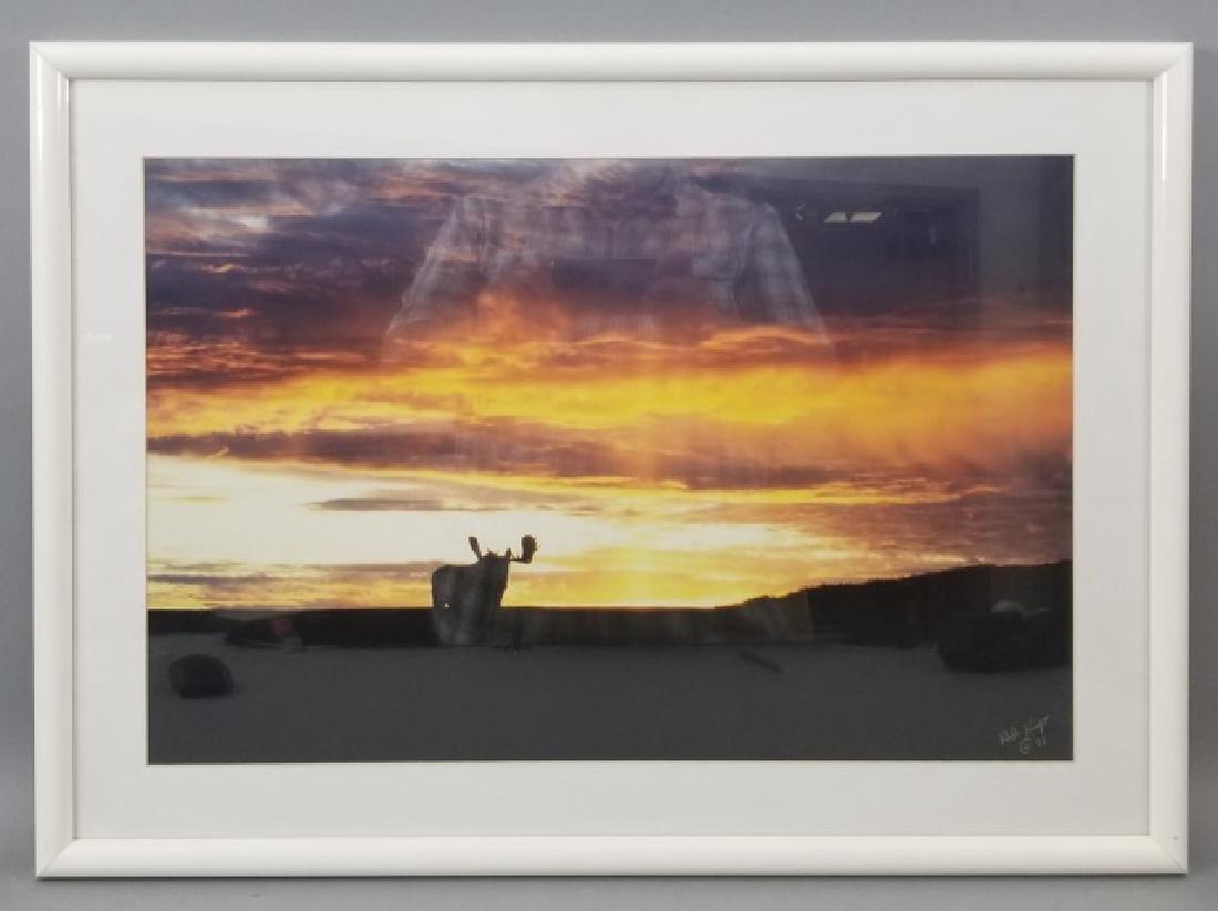 Pair of Framed Rod Kieft Photos of Bear & Moose - 7