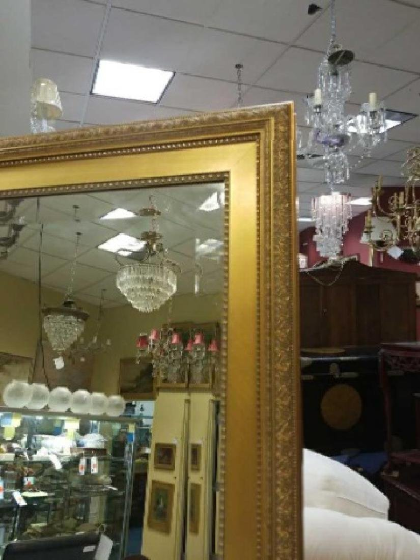 Custom Full Length Pier Gold Framed Beveled Mirror - 2