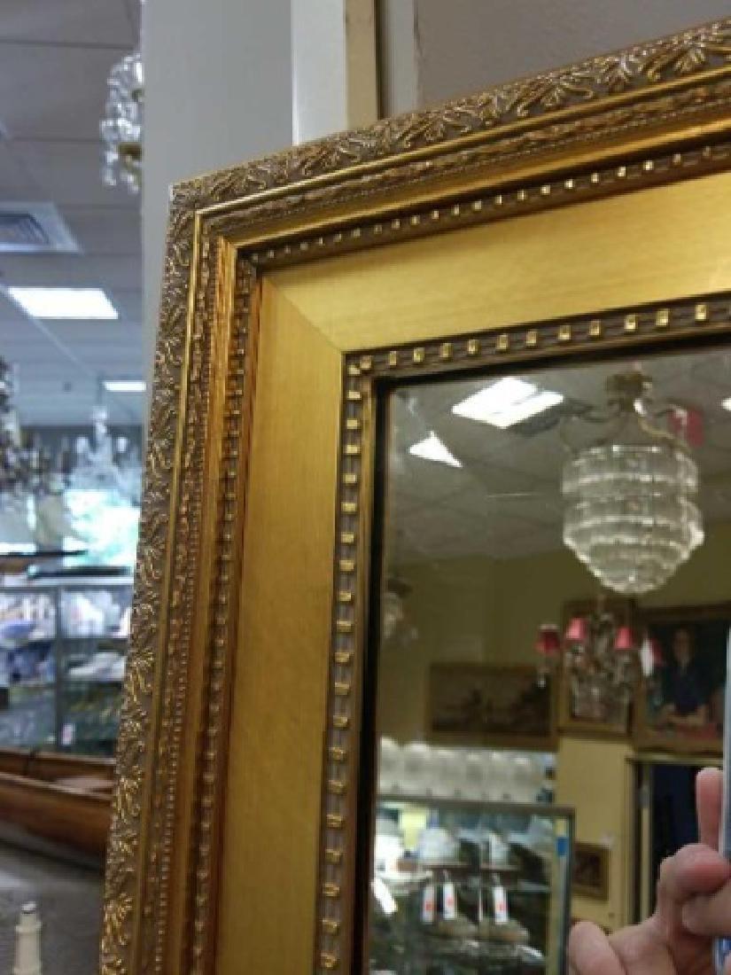 Custom Full Length Pier Gold Framed Beveled Mirror - 3