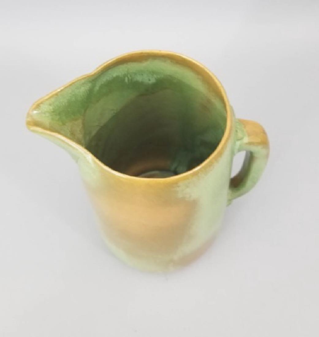 Three Art Pottery Items - Vases & Pitcher - 2