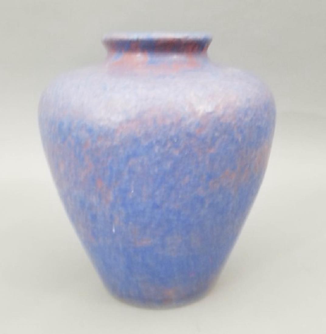 Three Art Pottery Items - Vases & Pitcher - 3