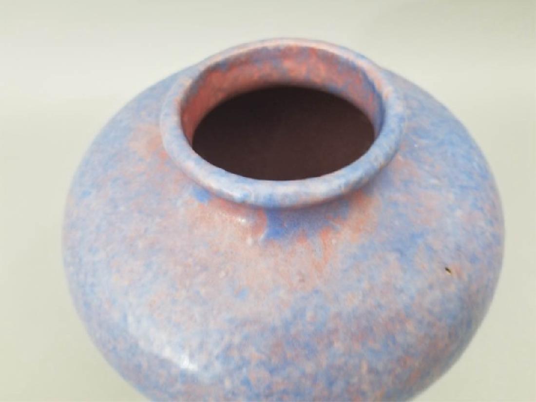 Three Art Pottery Items - Vases & Pitcher - 5