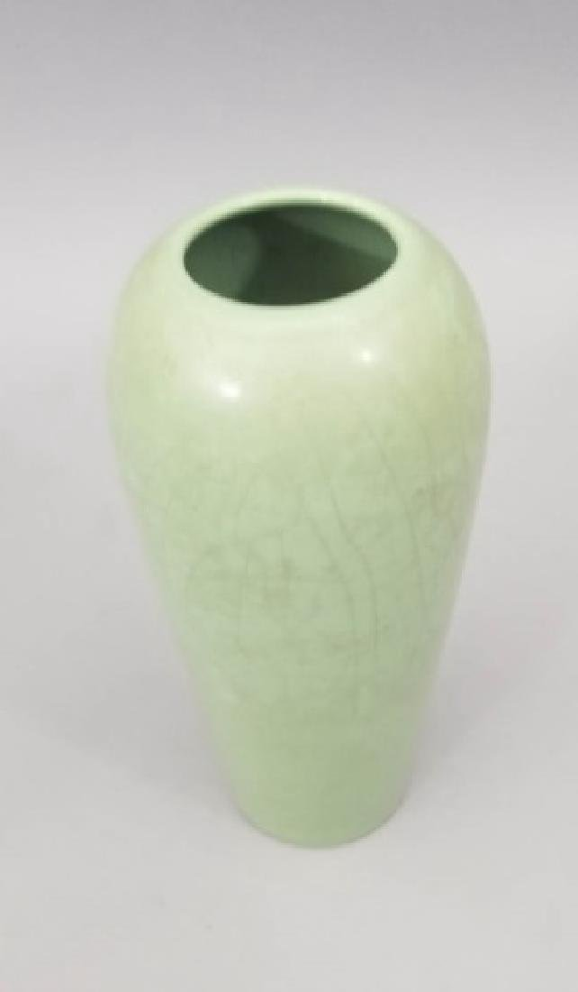 Three Art Pottery Items - Vases & Pitcher - 7