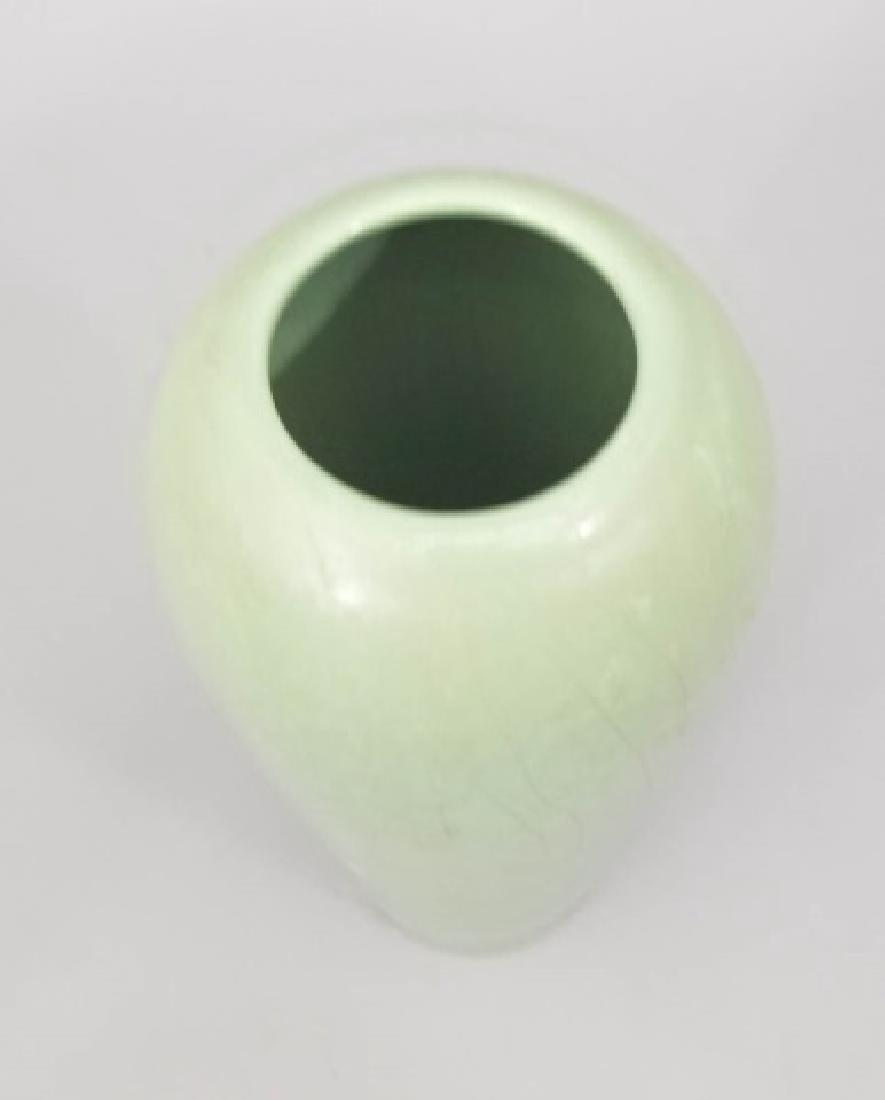 Three Art Pottery Items - Vases & Pitcher - 8