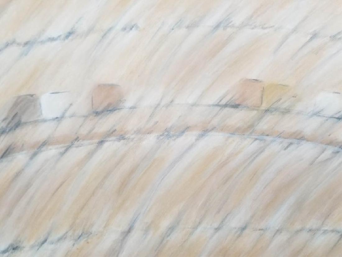 Alice Phillips Acrylic on Canvas Vanishing Square - 10