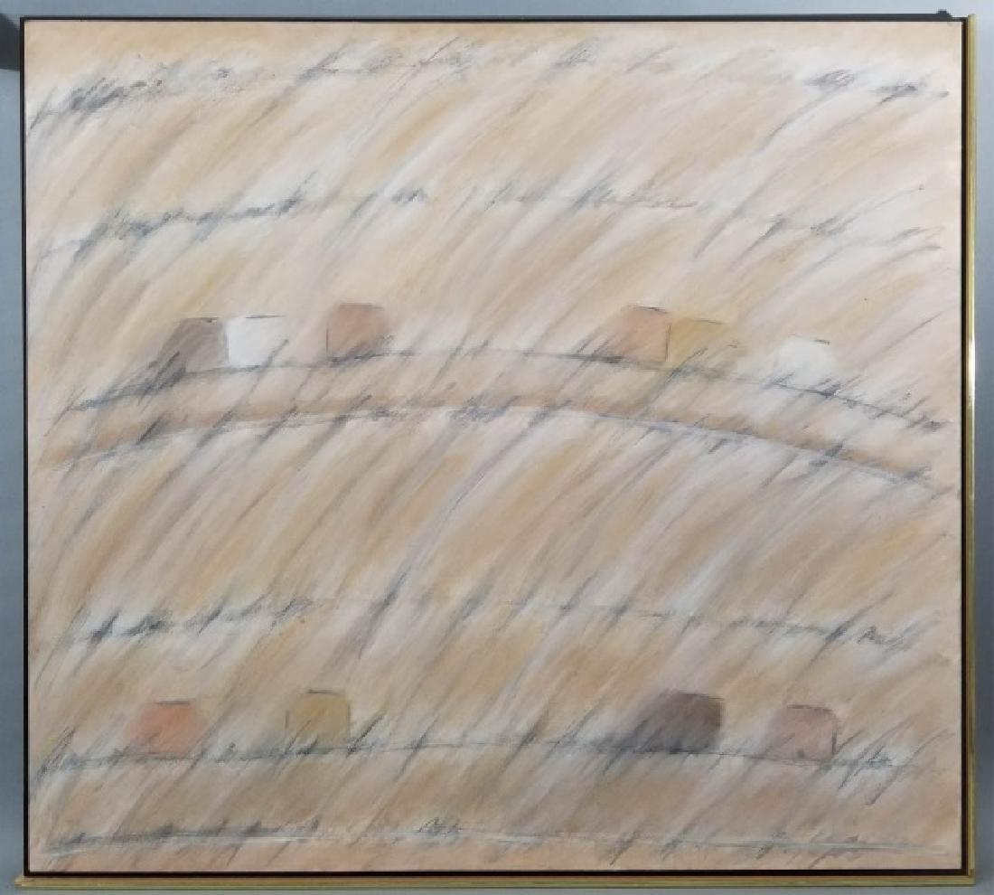 Alice Phillips Acrylic on Canvas Vanishing Square