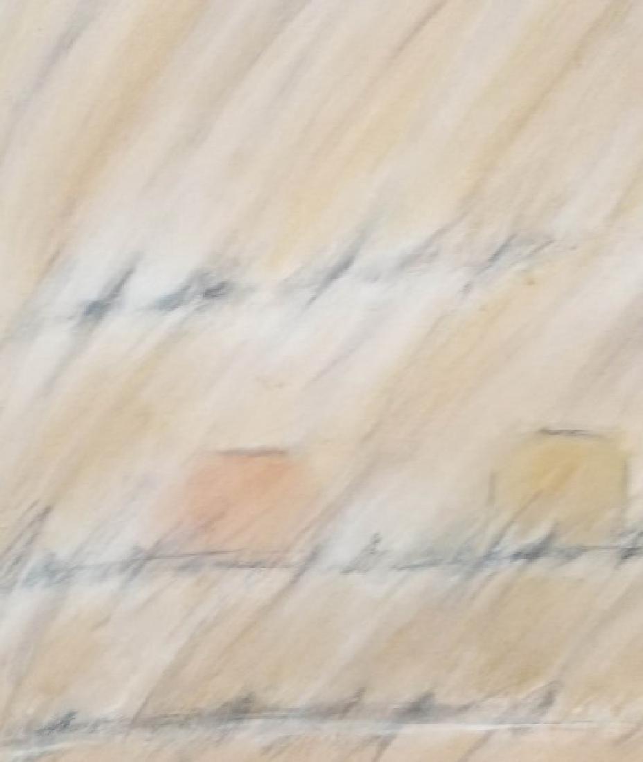 Alice Phillips Acrylic on Canvas Vanishing Square - 8