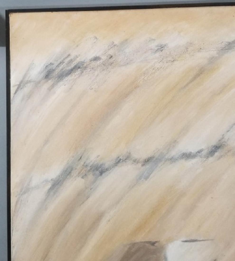 Alice Phillips Acrylic on Canvas Vanishing Square - 9